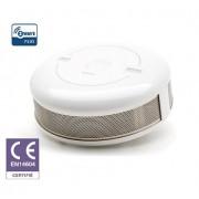 Rilevatore di fumo Fibaro certified CE EN 14604 Z-Wave Plus