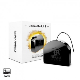 Micromodule double switch Z-Wave Plus FGS-223 - Fibaro
