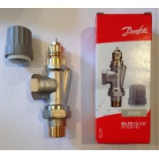 "Plunger valve for radiator  RA-FN 15 1/2 "" Female inverse"